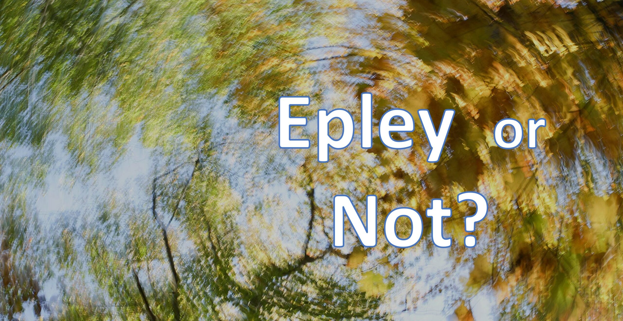 Caption reads Epley or Not?