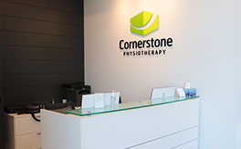 Cornerstone Physiotherapy Burlington front desk