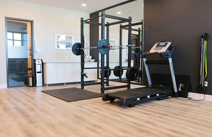 Cornerstone Physiotherapy Burlington gym area