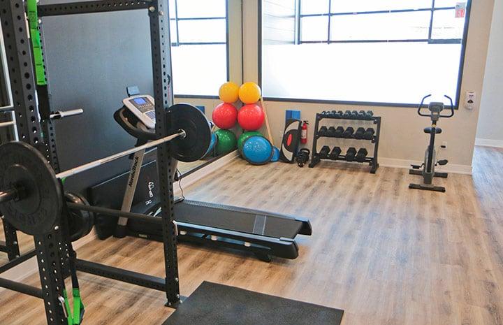 Cornerstone Physiotherapy Burlington gym space