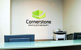 Cornerstone Physiotherapy College Station Clinic reception area