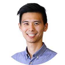 Head shot of North York Physiotherapist Cedric Quach