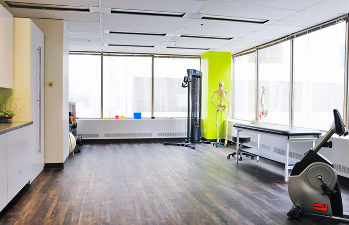 Cornerstone Physiotherapy Downtown Toronto gym area