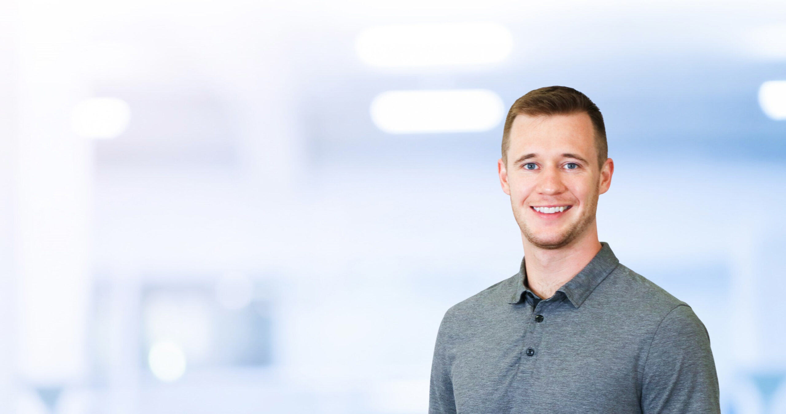 headshot of cole miller physiotherapist at Cornerstone Physiotherapy in Toronto